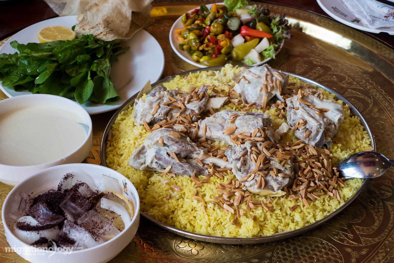 mansaf in Jordan