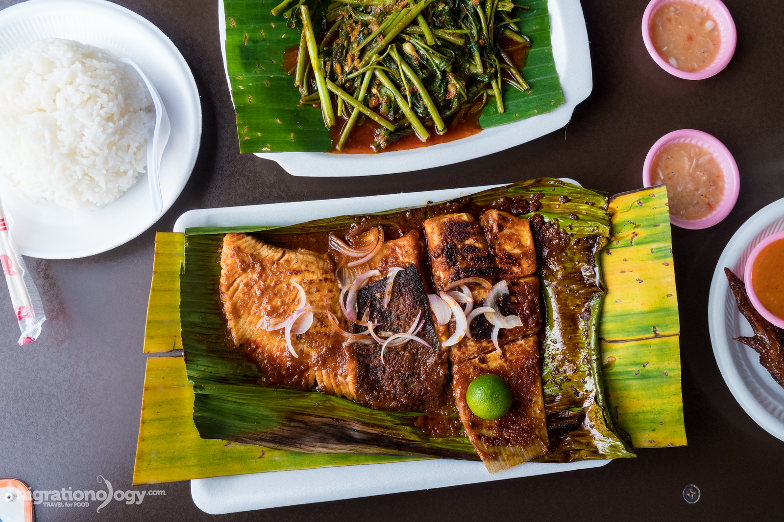 Singpore sambal stingray