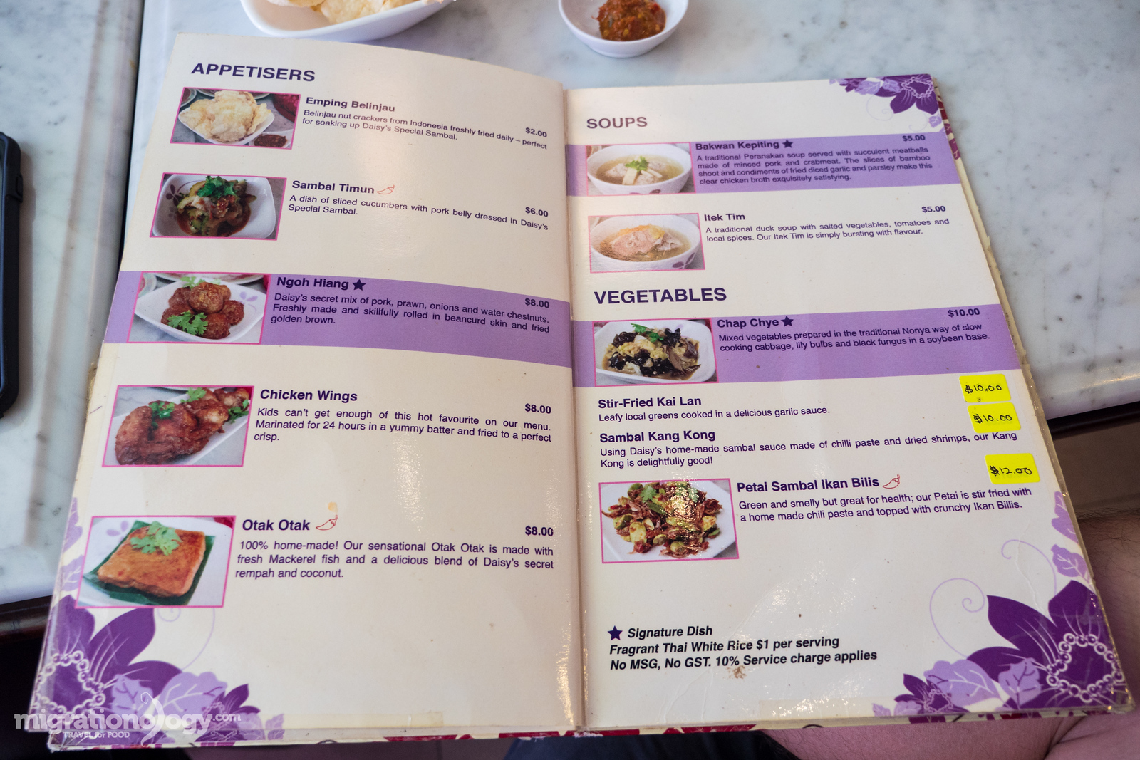 Peranakan dishes