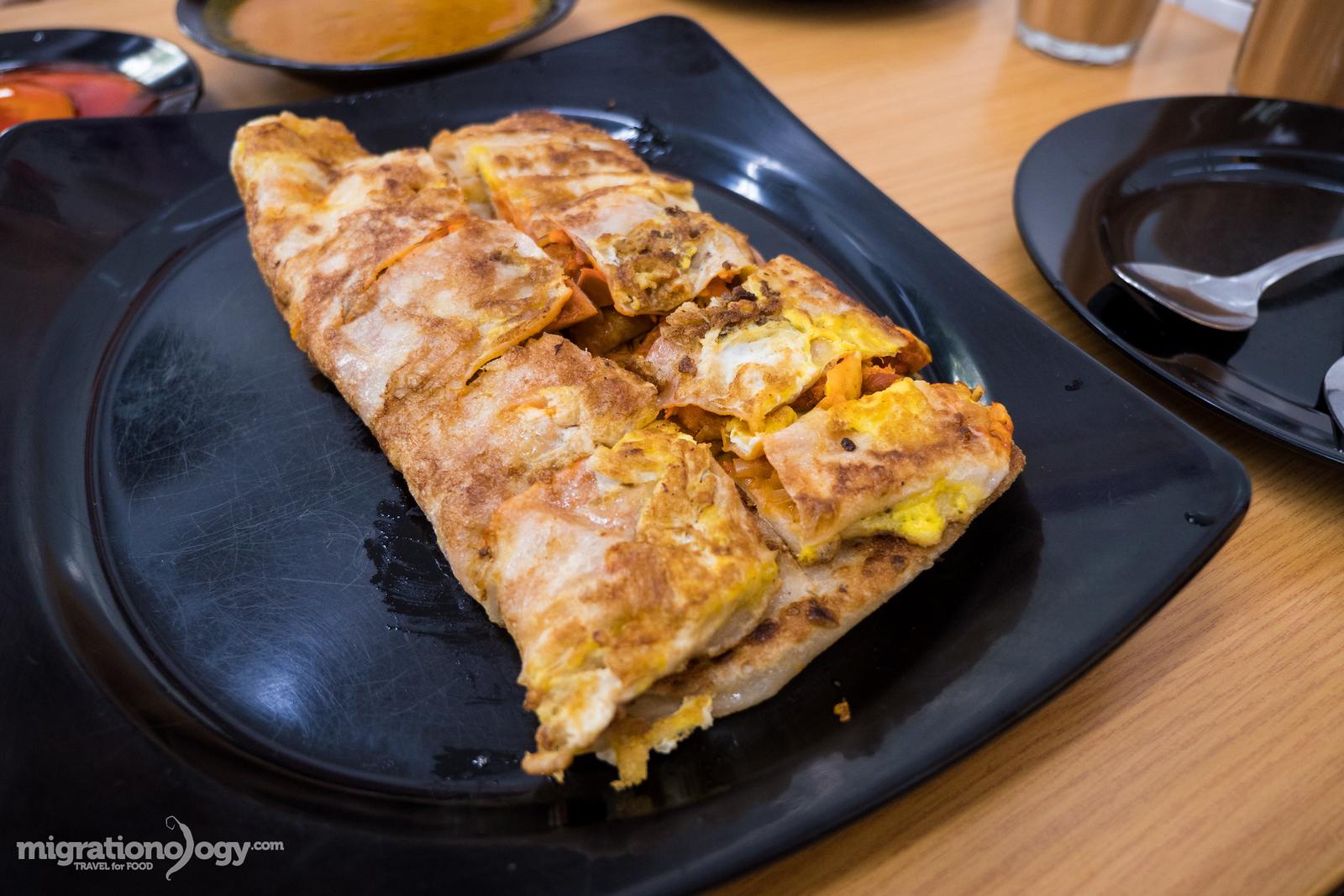 Chicken murtabak Sinagpore