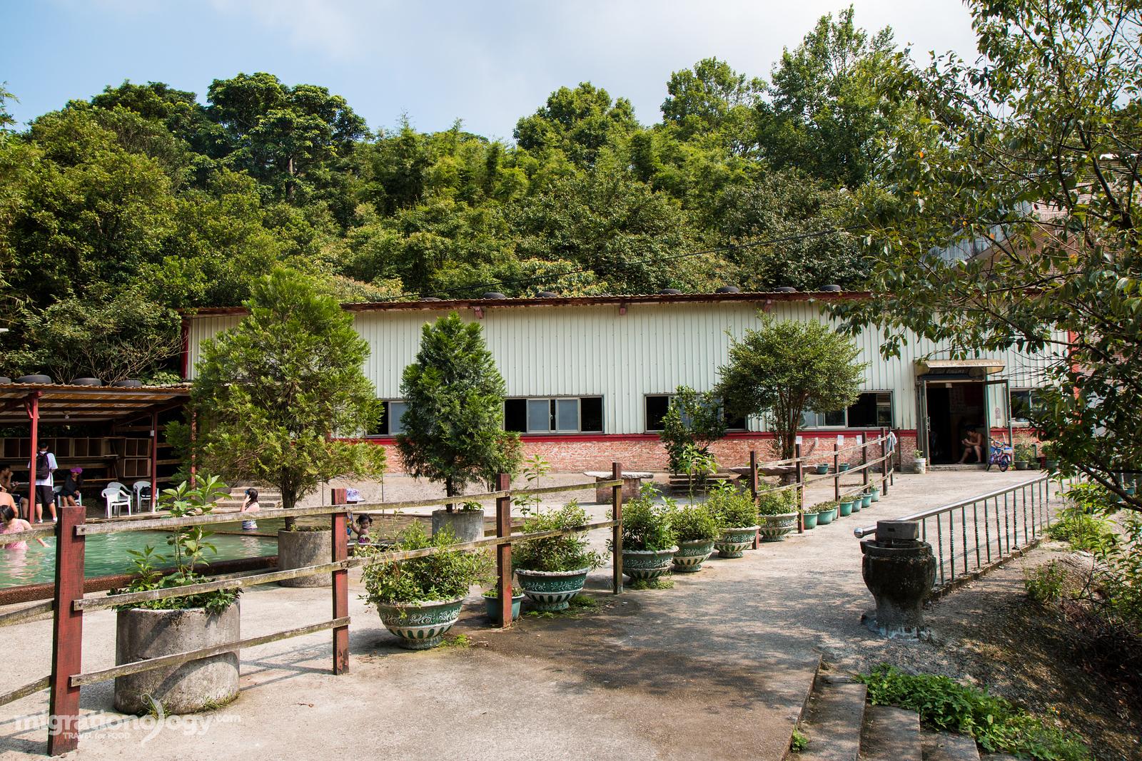 Taiwan hot spring resort