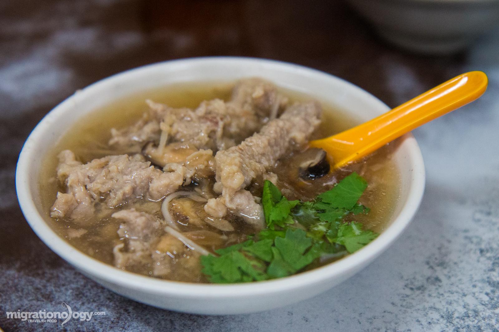 Taiwanese pork soup