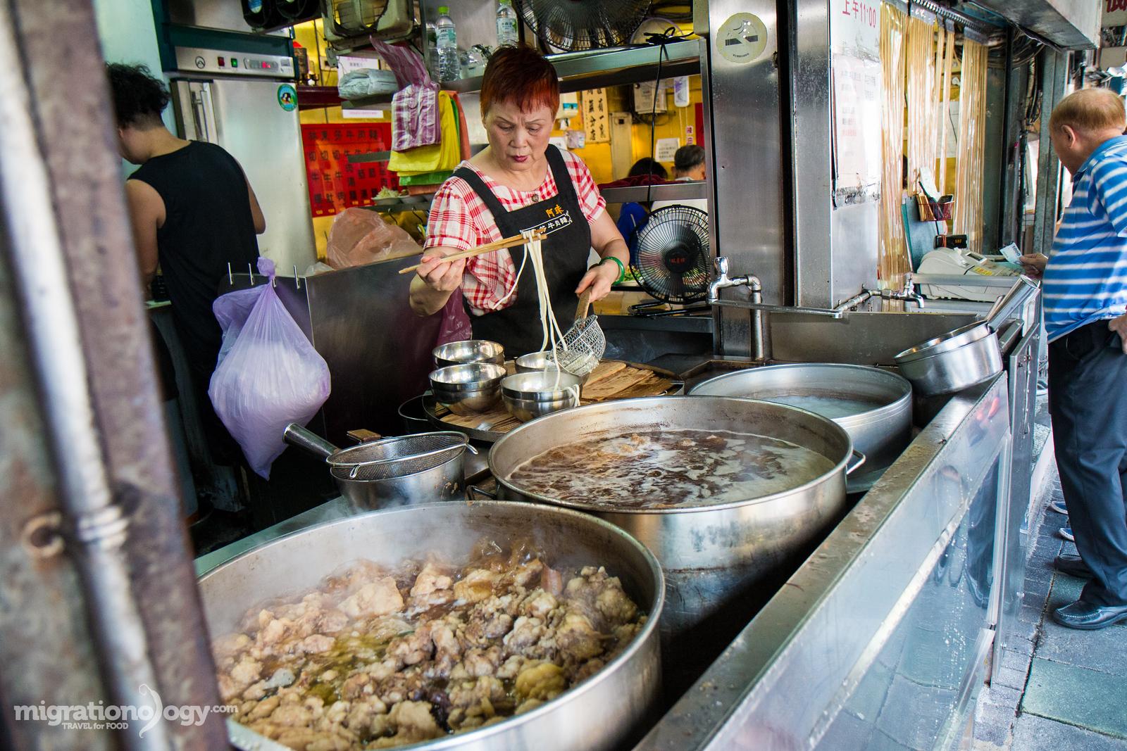 Lin Dong Fang (林東芳牛肉麵) beef noodles