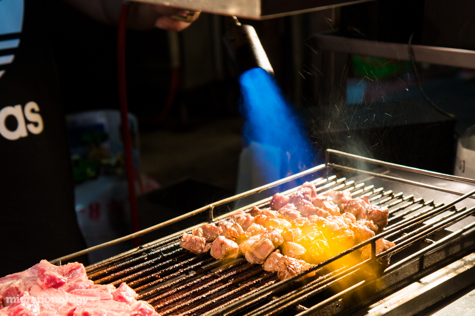 Taiwanese street food at Shilin Night Market