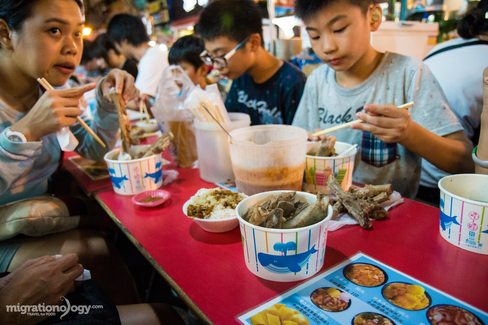 what to eat at Raohe Night Market