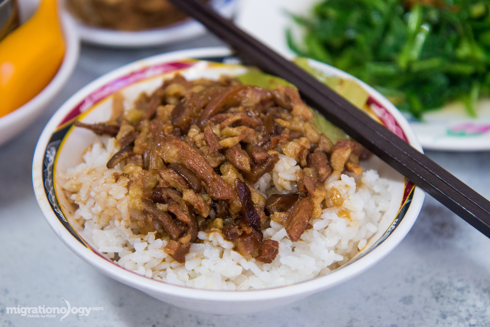 Lu rou fan (滷肉飯)