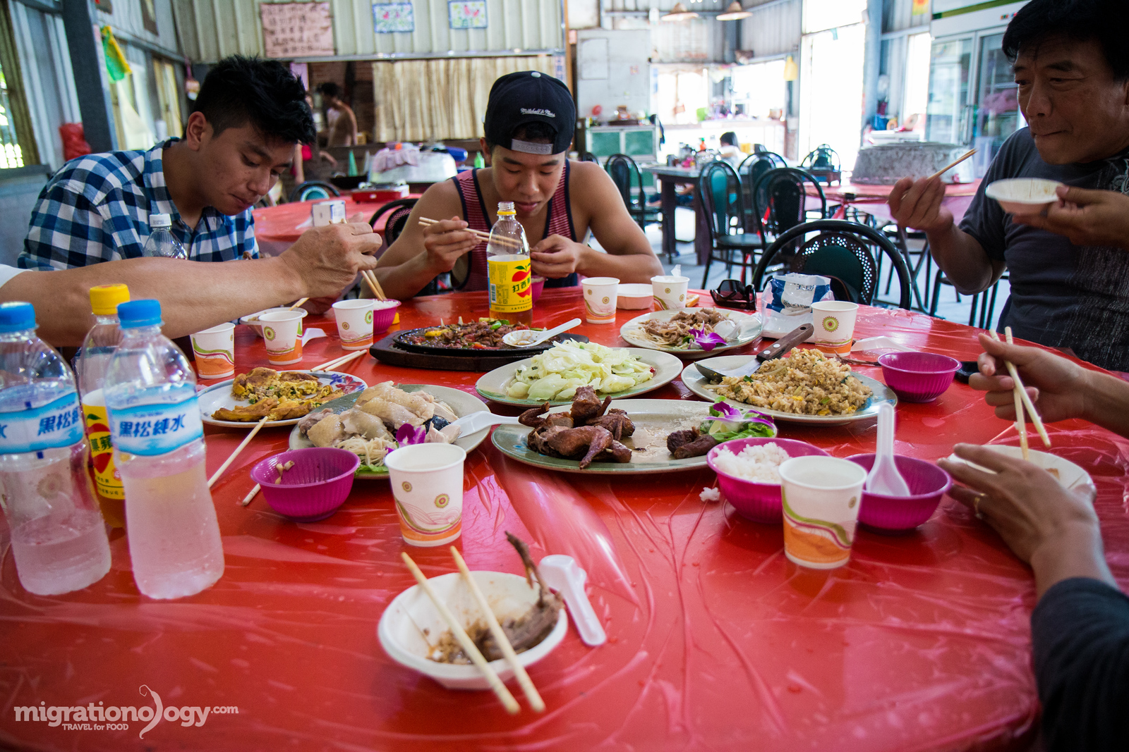 Lunch in Taiwan