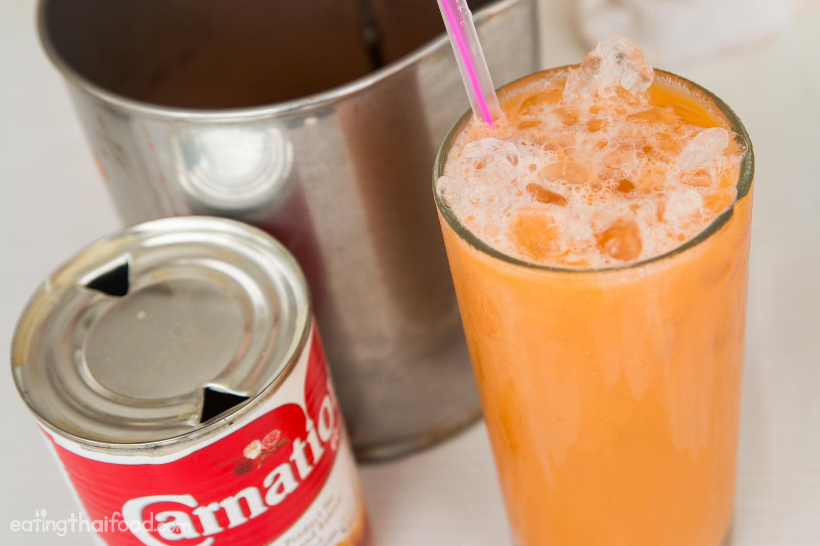 How to make thai tea with condensed milk