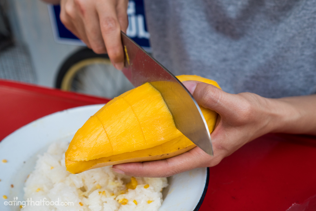 Thai Mango Sticky Rice Recipe Authentic Thai Street Food Style