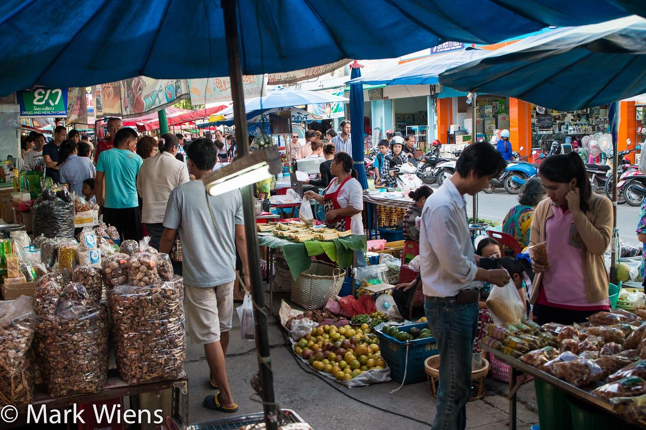 market in Chiang Rai
