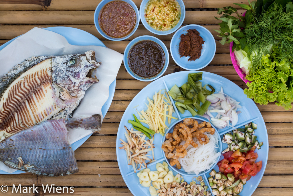 Udon Miang Pla Pao (อุดรเมี่ยงปลาเผา)