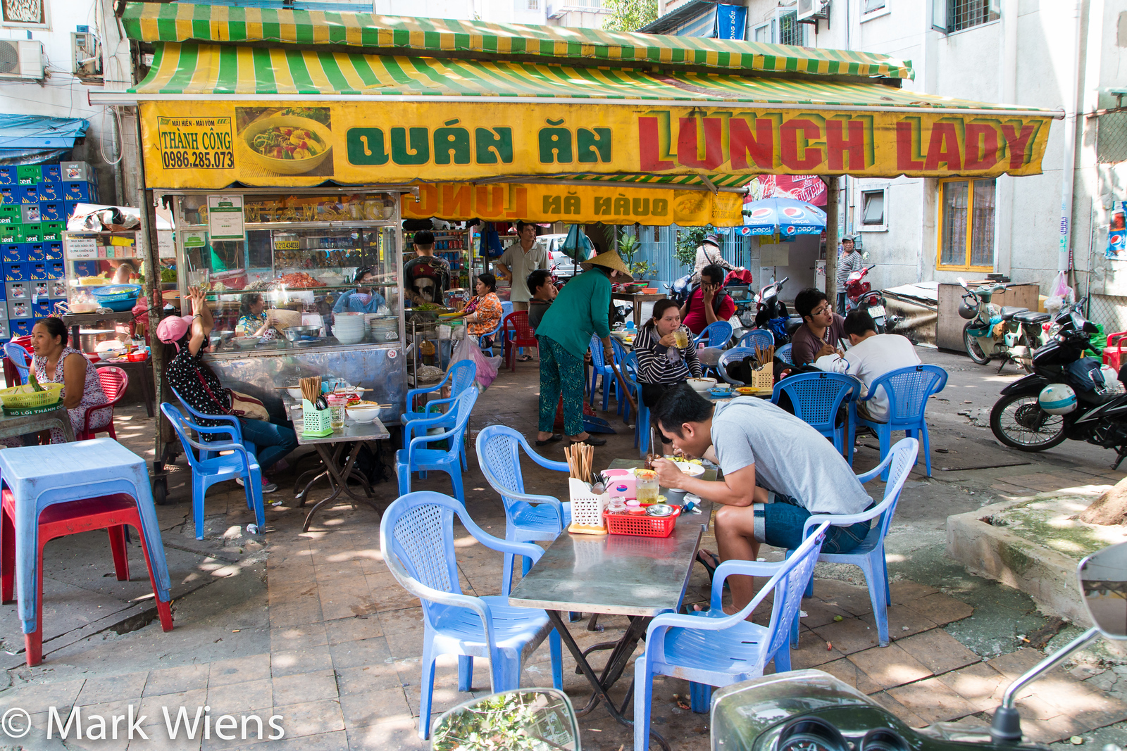 How to get to the Lunch Lady in Saigon