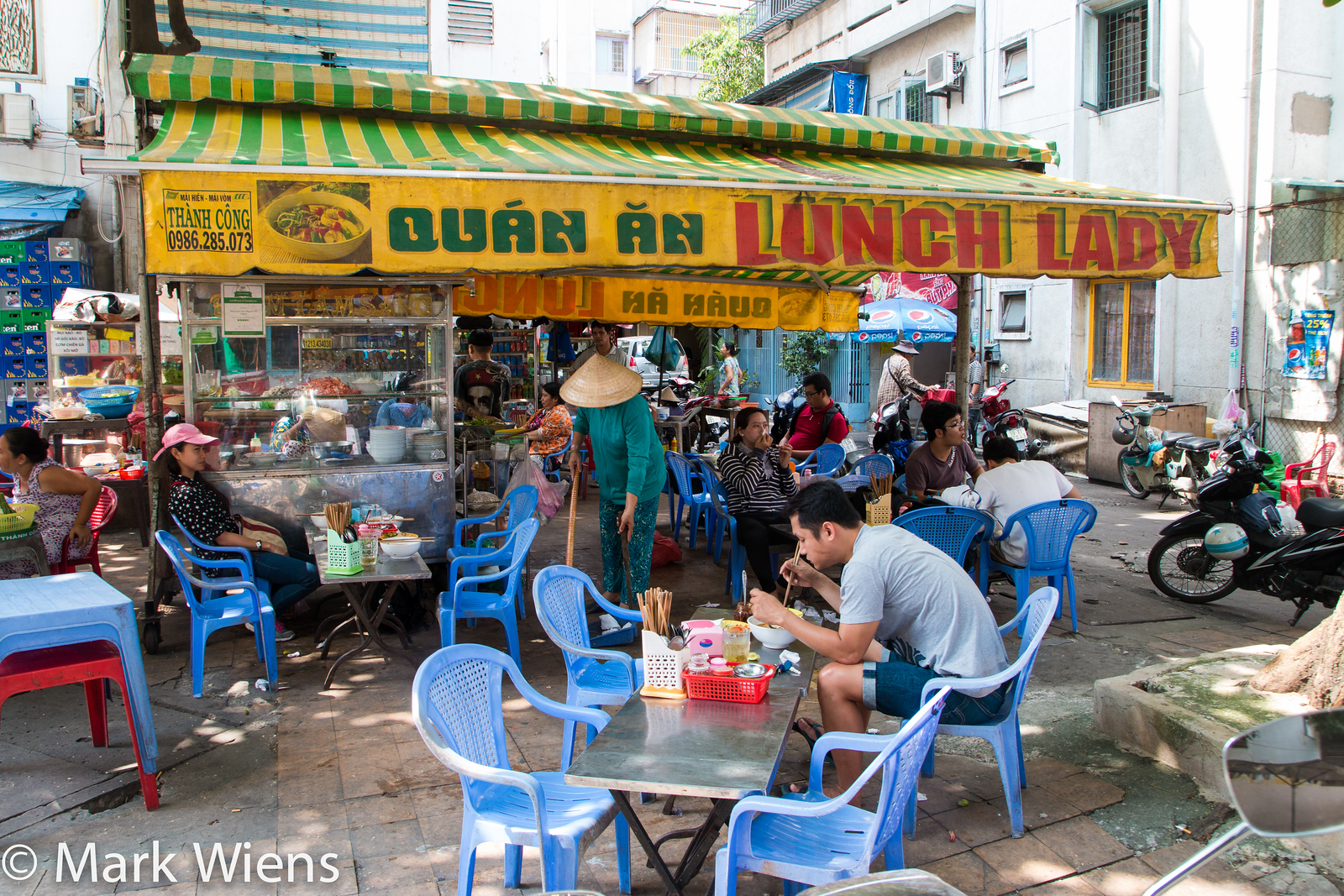 The Lunch Lady in Saigon