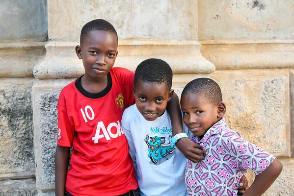 Kids in Zanzibar
